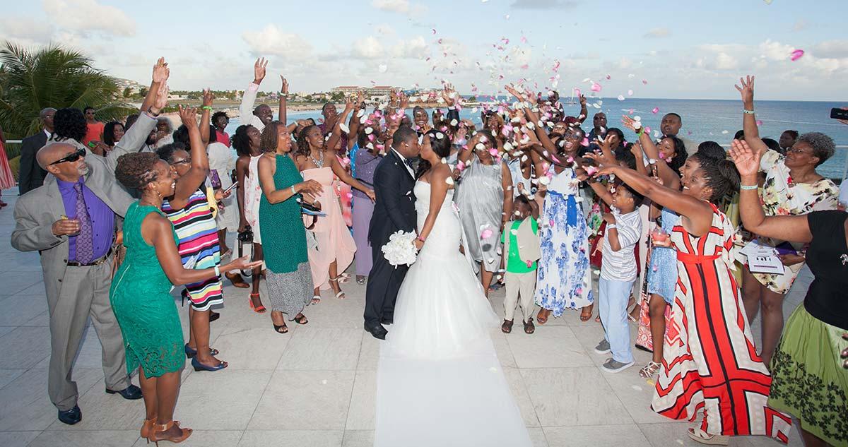 Wedding at Maho St Maarten