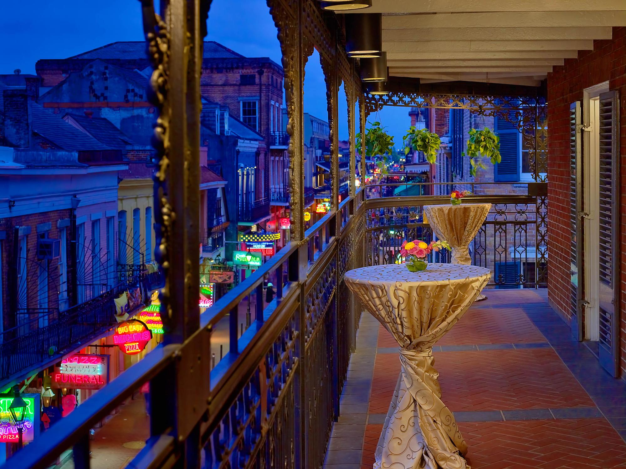 Bourbon Balcony