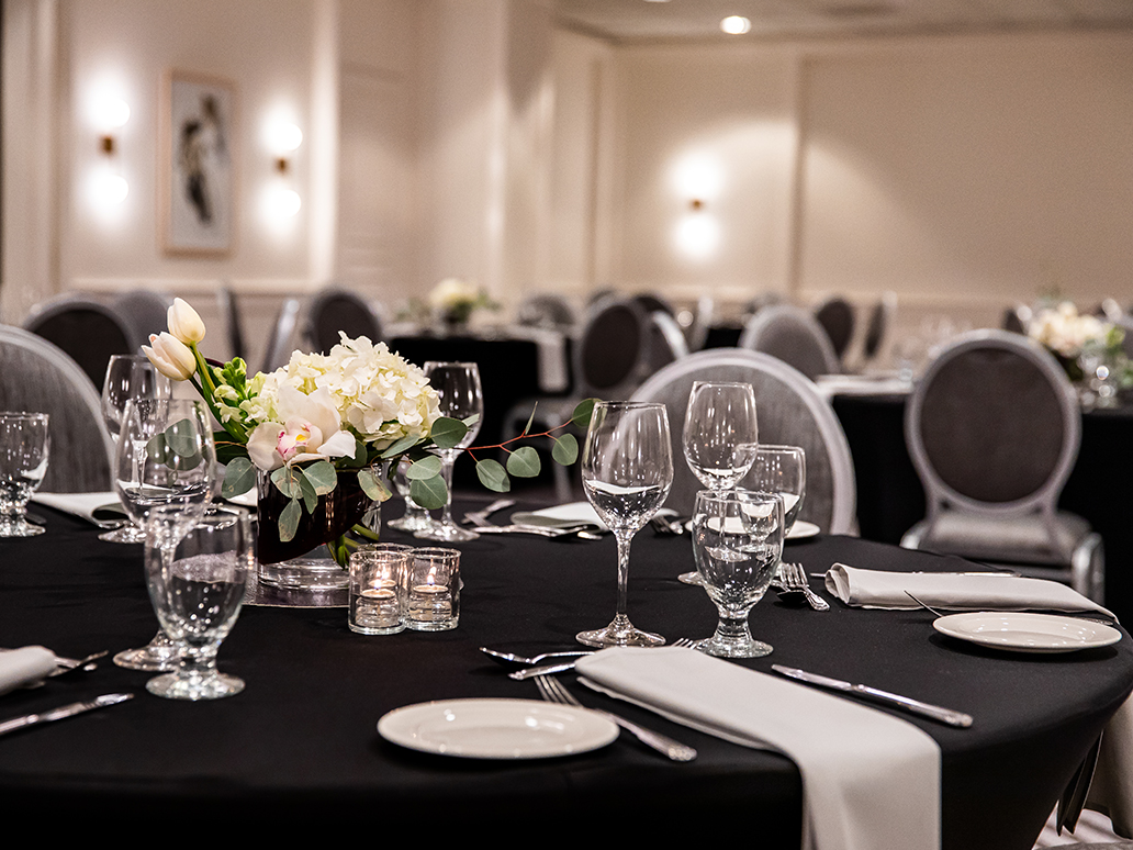 Lipman Wolfe Banquet Setup