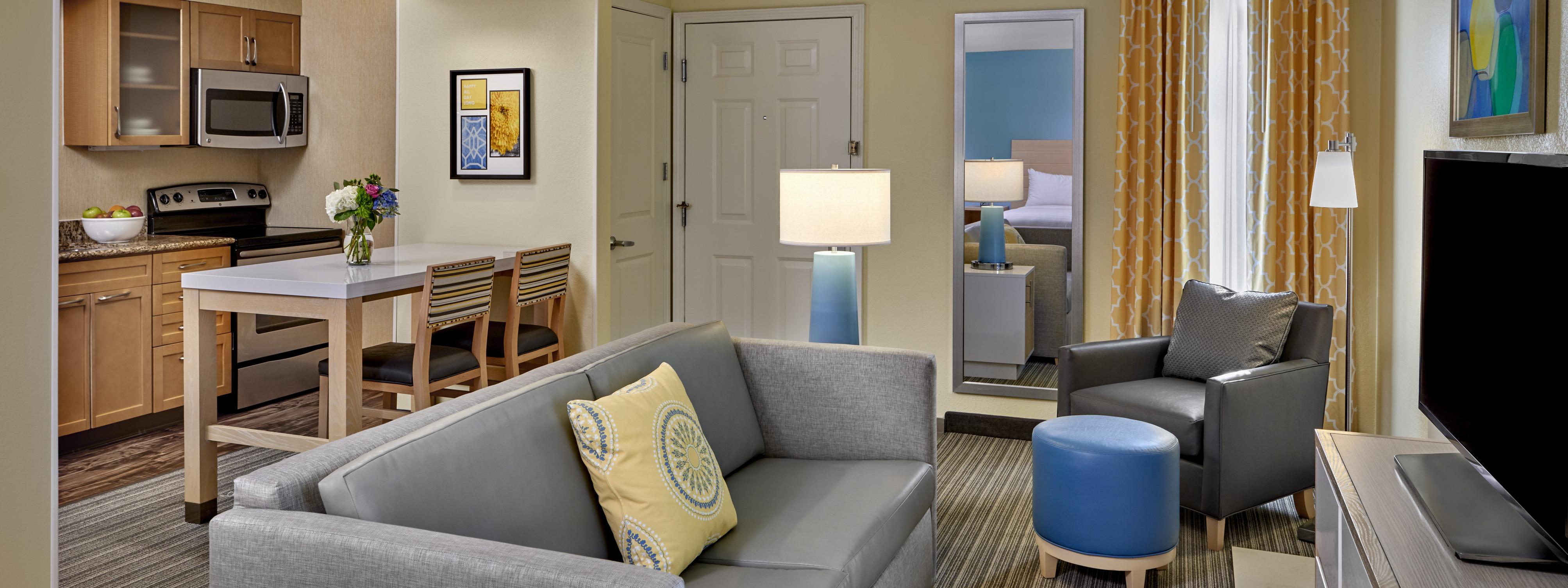 Sonesta Studio Suite living area.
