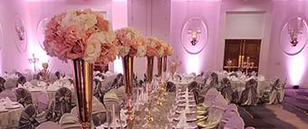 Weddings Menu