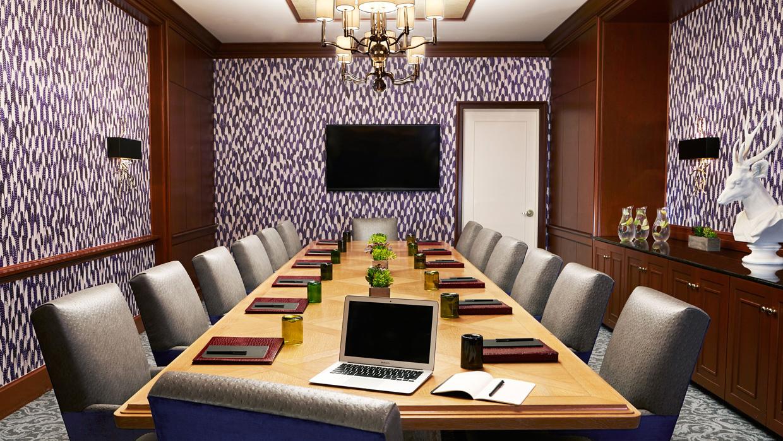 The Thompson board room.
