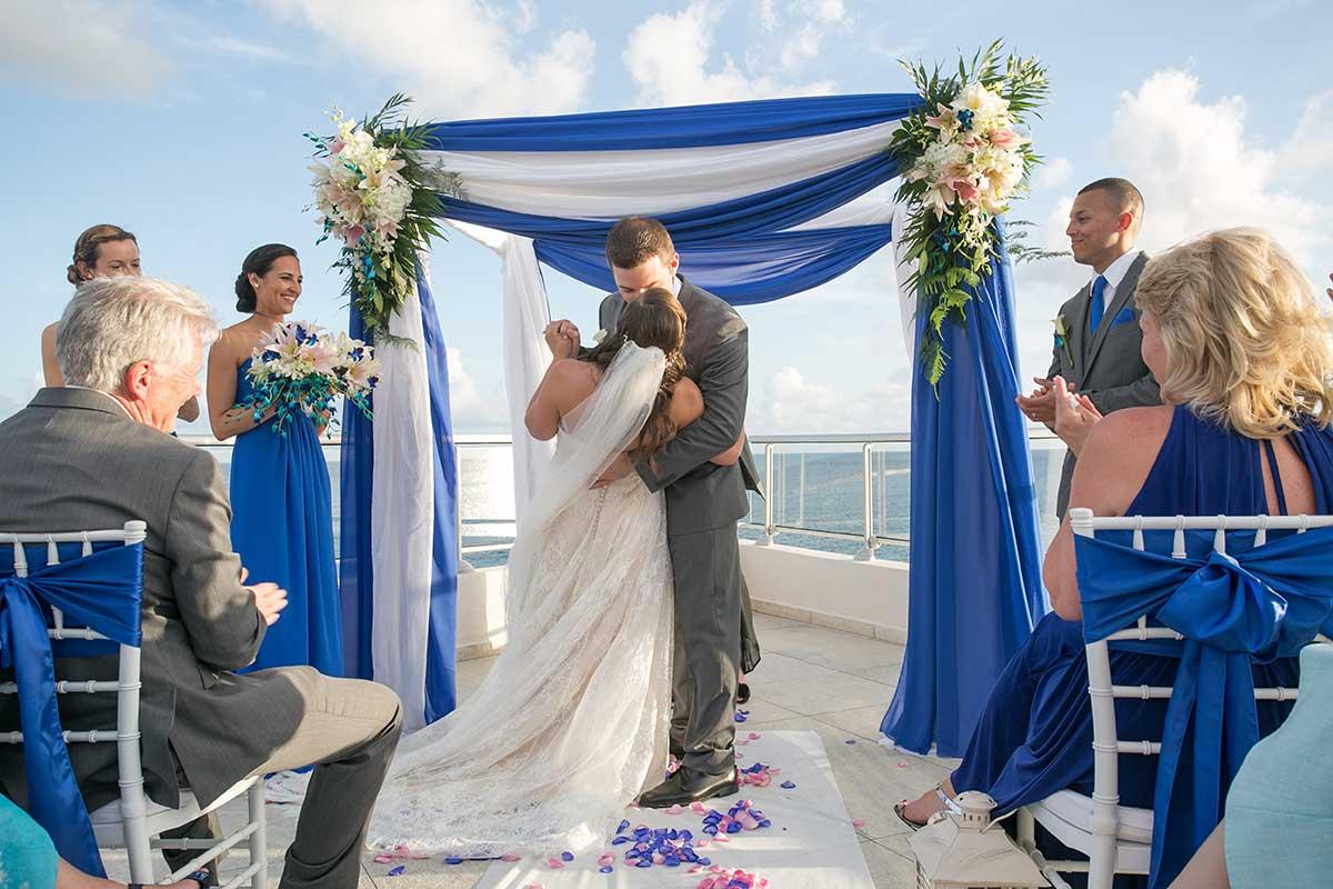 Wedding at Ocean Point