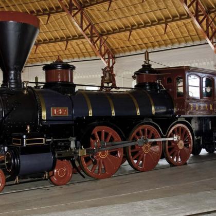 Paquete para el Museo del Ferrocarril B&O