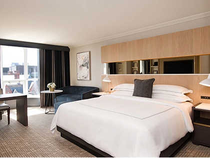 The Yorkville Royal Sonesta Hotel Toronto Guest Room