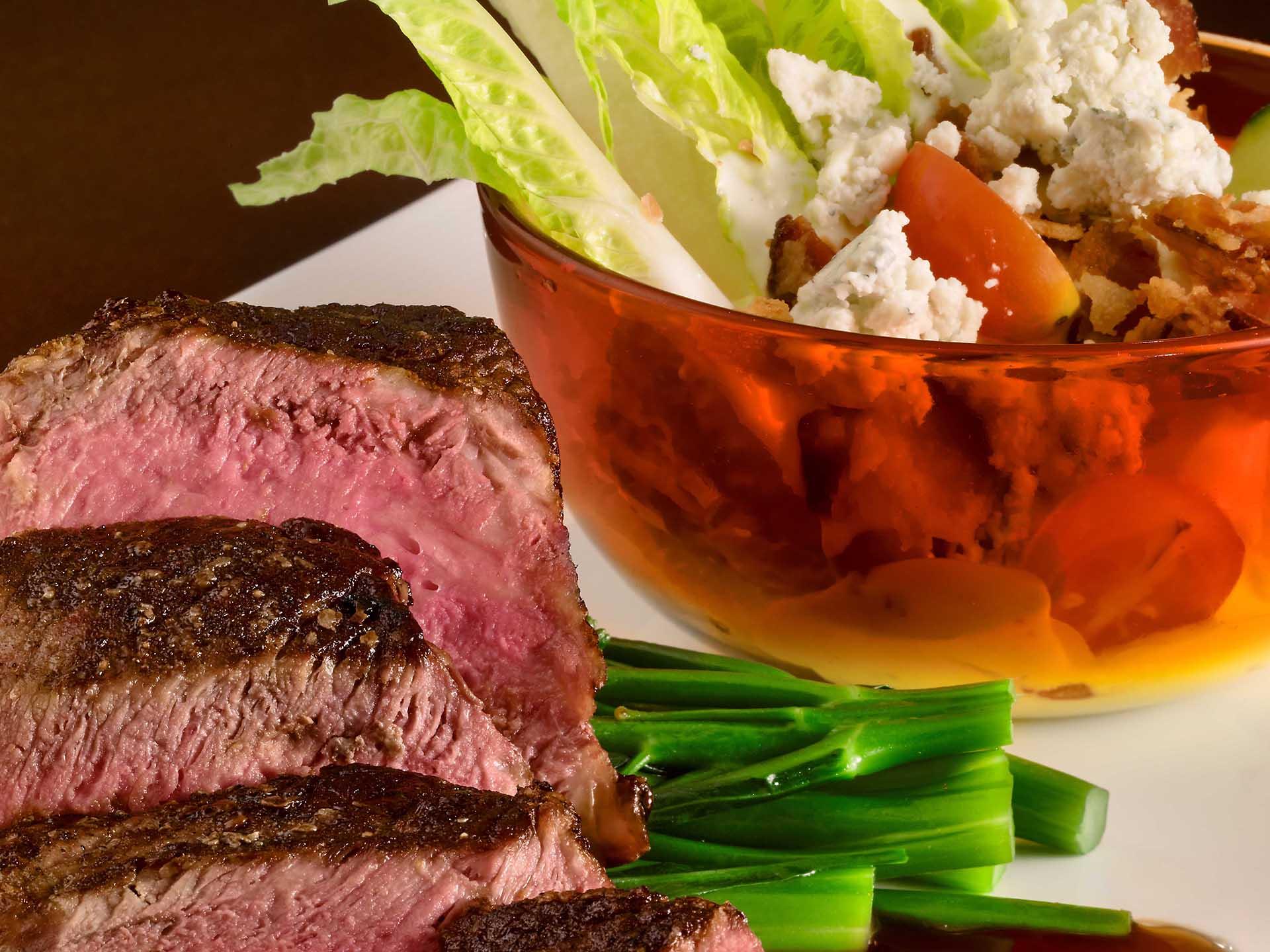 Seared Steak Close Up
