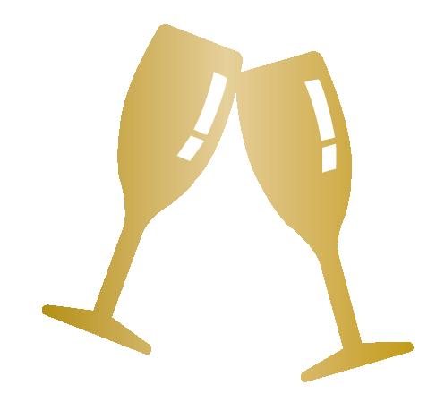 Weddings Icon - Champagne Glasses