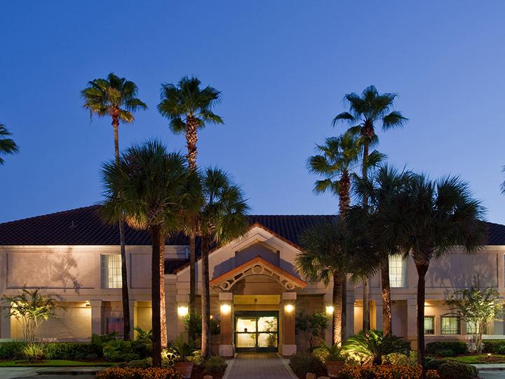 Hotel exterior.