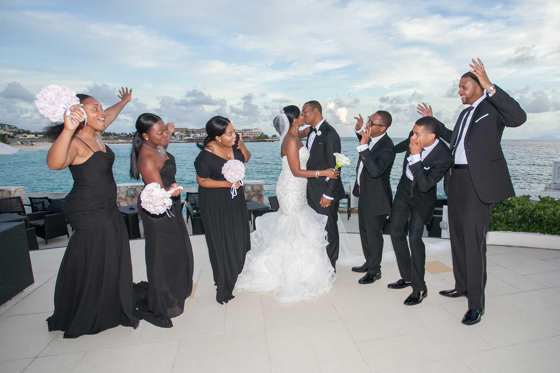 st maarten wedding