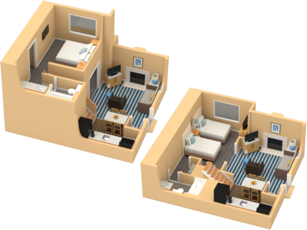 Two Bedroom Loft Suite