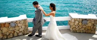 small wedding in st maarten