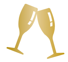 Weddings Icon - Champagne Glasses
