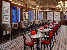 Royal Sonesta New Orleans Desire Oyster Bar Tables