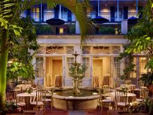 Royal Sonesta New Orleans Courtyard Fountain