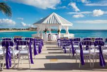 ocean front weddings at sonesta st maarten