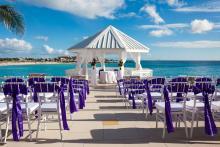 ocean front weddings at sonesta st maarten